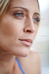 Close up of beautiful blonde woman  (AA_101271)